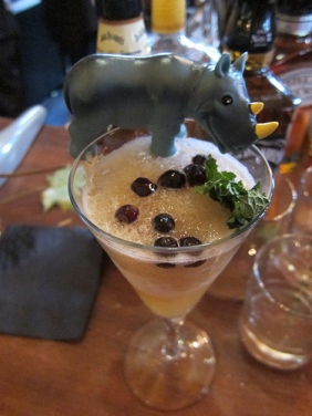 one of the blended cocktails
