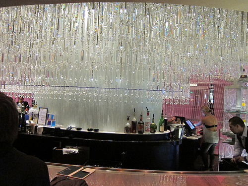 Las Vegas Chandelier and Vesper Bars at the Cosmopolitan – Bar Chandelier