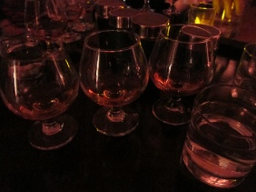 From left to right- 12, 15, 18 Year Old The Glenlivet Scotch