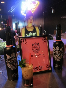 Kate Grutman for Pink Pigeon Rum