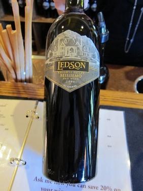 Ledson wine tasting