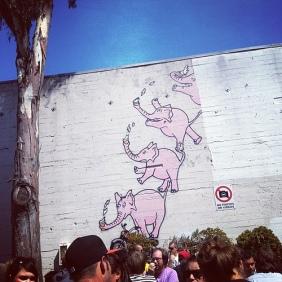 Zeitgeist pink elephants