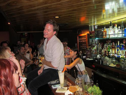 Aidan at Neat Bar