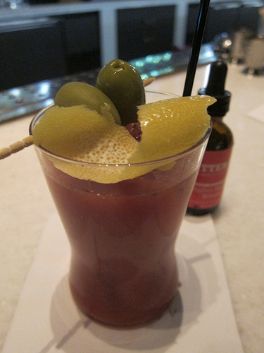 Bloody with St. George Breaking & Entering Bourbon