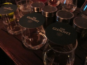 Glenlivet Scotch tasting