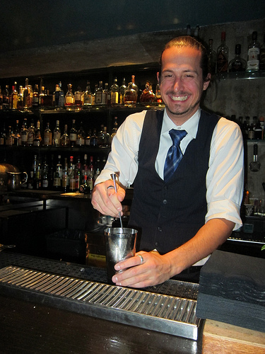 Hot Bartender Michel Dozois