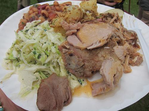 yummy roast pork and sides