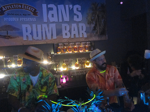 Ian's Rum Bar- Ian Burrel and Domick Venegas