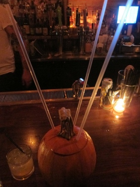 Trickdog's pumpkin punch
