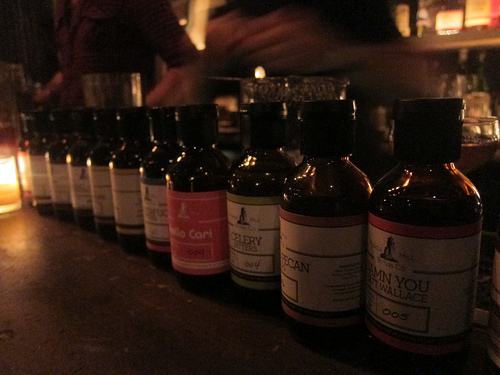 various Miracle Mile Bitters