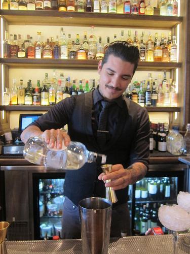 Scopa bartender Gilber Marquez