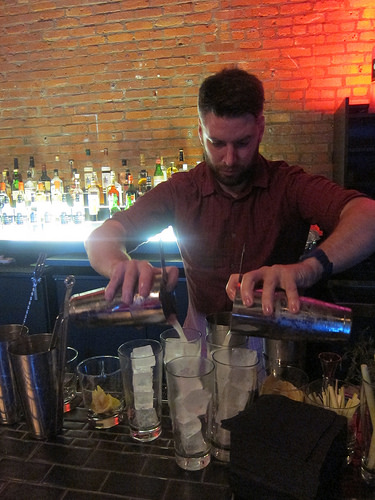 guest bartender Billy Ray