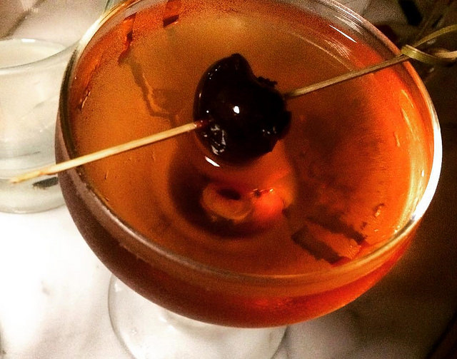 Partida Manhattan at Big Bar