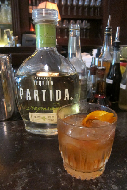 Partida Old Fashioned at Black Cat