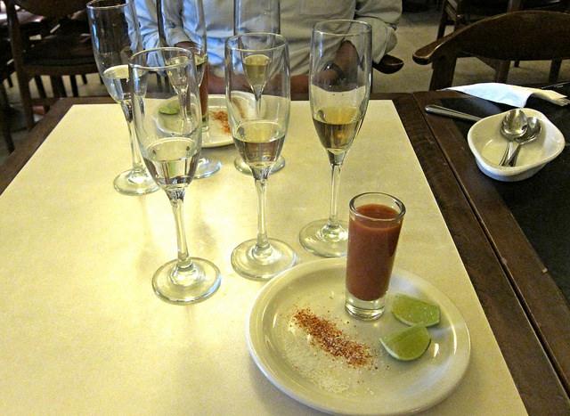 Tequila Partida tasting: blanco, reposado, anejo