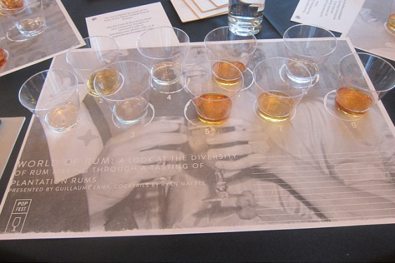 Paris of the Plains Festival - World of Rum (Plantation Rum seminar), 2015